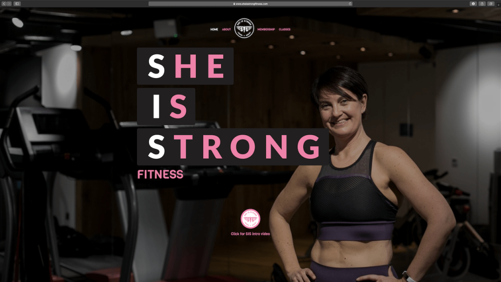 She is Strong Fitness 2