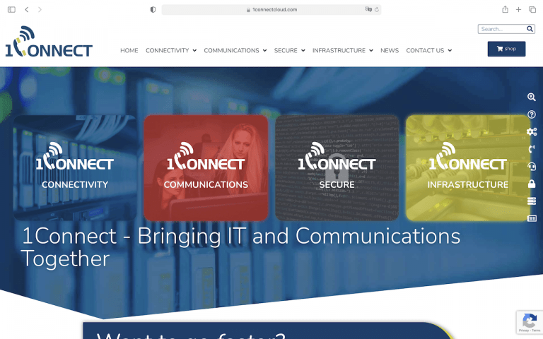 1Connect Homepage