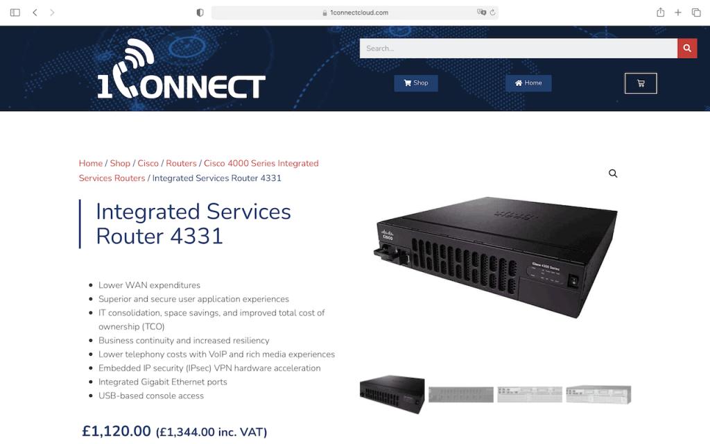 1Connect Shop - Cisco
