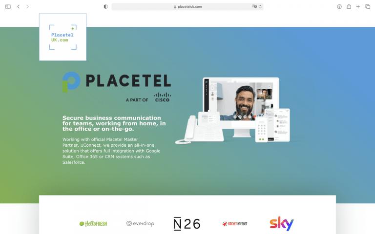 placetel uk - homepage