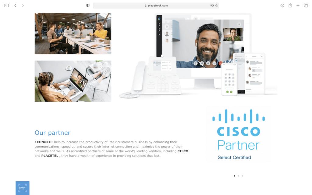 placetel uk - partnership