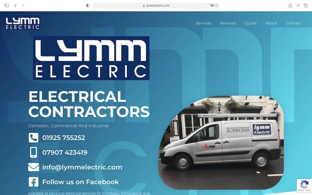 Lymm Electric - Homepage
